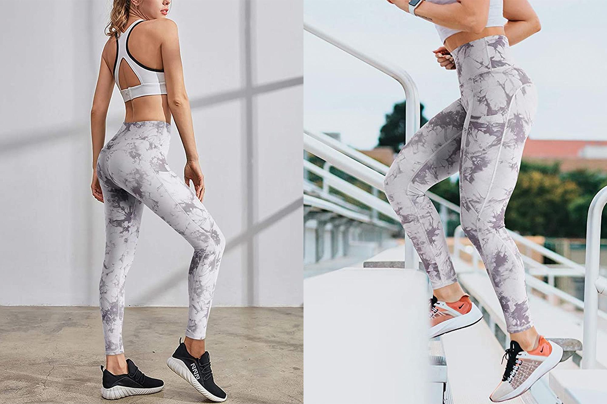 G4Free High Waist Yoga Pants with Pockets