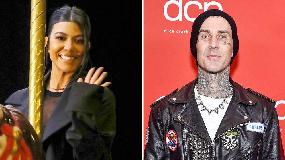Kourtney Kardashian and Travis Barker's Relationship Timeline