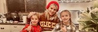 Jessica Simpson Cooking with Maxwell Drew and Ace