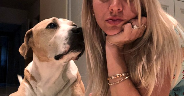 Kaley Cuoco Mourns the 'Earth-Shattering' Death of Dog Norman: 'You Were My Entire World'.jpg
