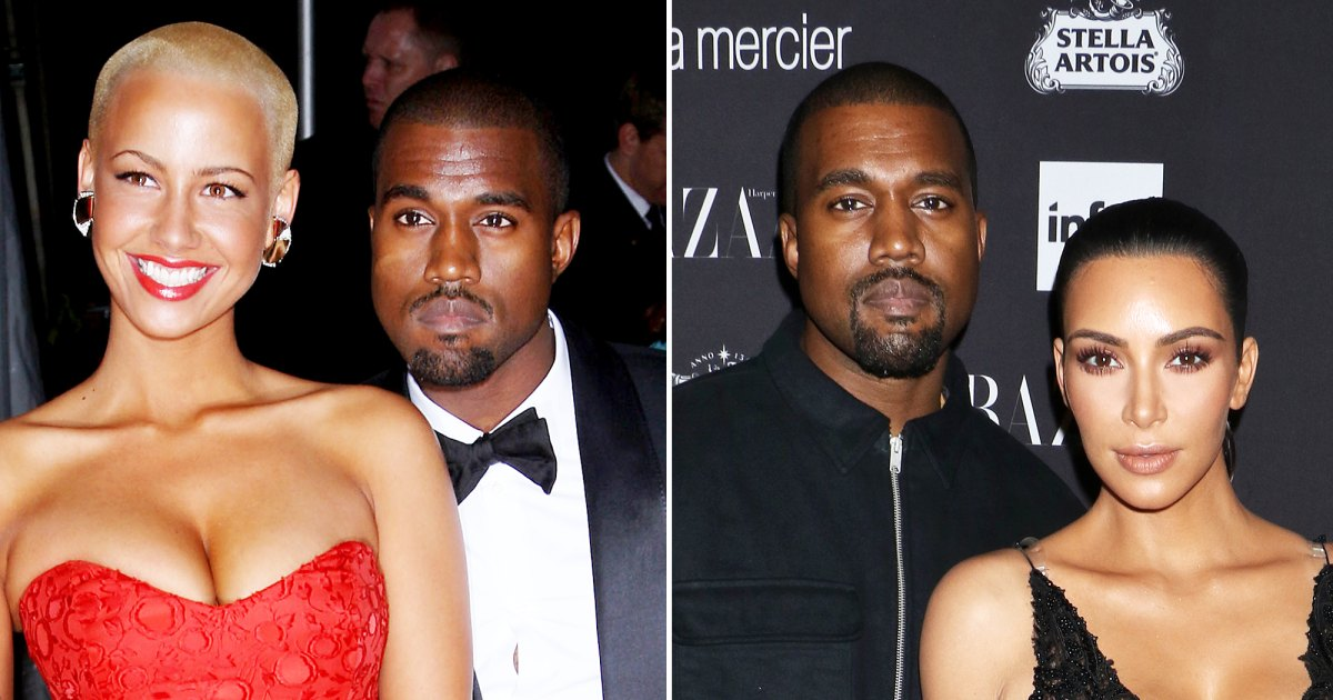 Kanye West's Dating History Through the Years: From Amber Rose to Kim Kardashian