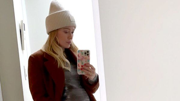 Pregnant Hilary Duff I Can't Put on My Own Shoes