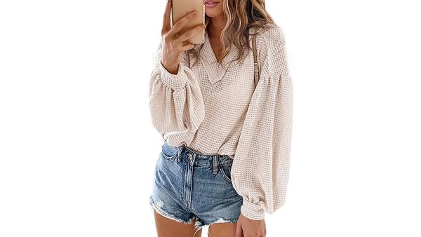 Asvivid Off-the-Shoulder Oversized Knit Pullover Sweater