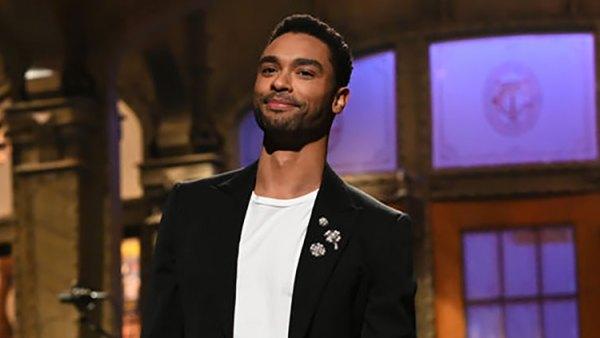 Swoon! Bridgerton's Regé-Jean Page Looks Dreamy Hosting SNL: Pics