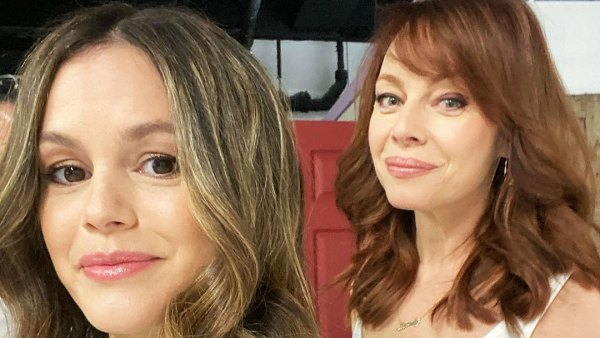 Costars Reunited Rachel Bilson and Melinda Clarke