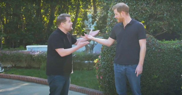 James Corden Interviews Prince Harry About Meghan Markle, Archie, 'The Crown' and More: Everything We Learned.jpg
