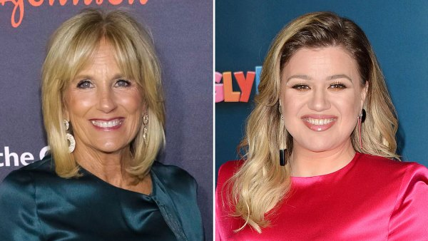 Jill Biden Gives Kelly Clarkson Advice Amid Divorce