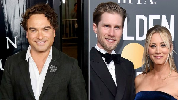 Johnny Galecki Jokes About Ex Kaley Cuoco Valentine Day Tribute to Husband Karl Cook