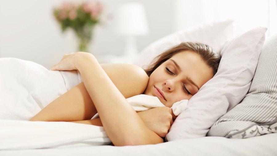 Woman-Sleeping-Stock-Photo