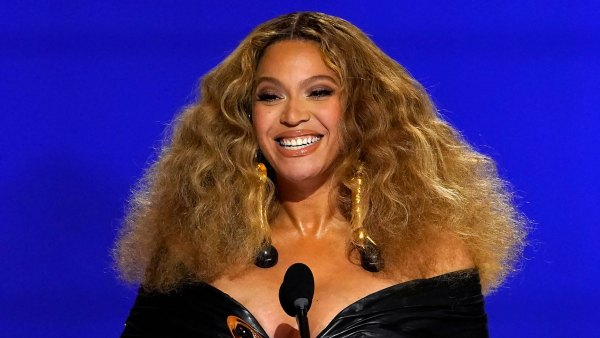 Beyoncé Dressed Like the Winner She Is at the 2021 Grammys in All Leather: Pics