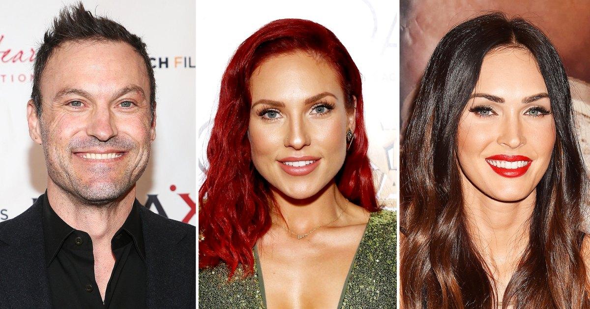 Brian Austin Green Honors GF Sharna Exes Megan Vanessa on Womens Day