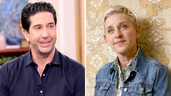 David Schwimmer Denies Ellen DeGeneres Is Hosting Friends Reunion