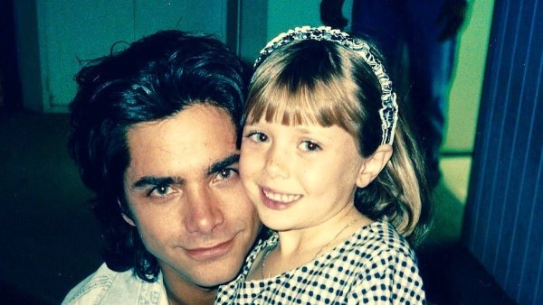 John Stamos Shares Sweet Full House Throwback Pic With Elizabeth Olsen
