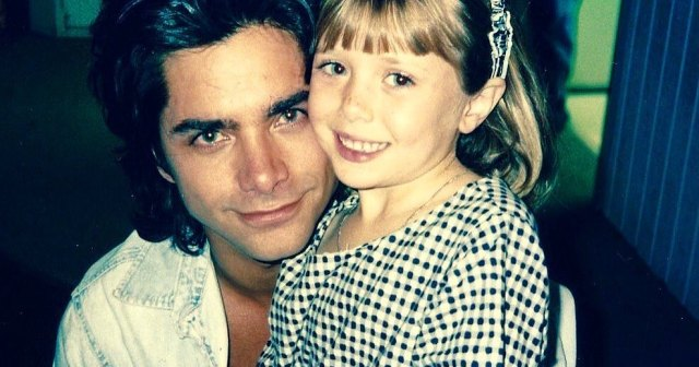 John Stamos Shares Never-Before-Seen Photo With Elizabeth Olsen From the 'Full House' Set: 'They Grow Up So Fast'.jpg