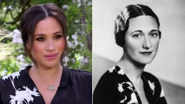 Meghan Markle Takes Style Inspiration From Wallis Simpson in CBS Tell-All