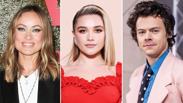 Olivia Wilde Shares First Look at Florence Pugh in Dont Worry Darling Her Movie With Boyfriend Harry Styles