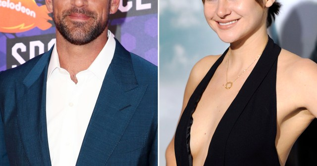 Aaron Rodgers and Shailene Woodley's Close Friends Think They Are 'Meant to Be'.jpg