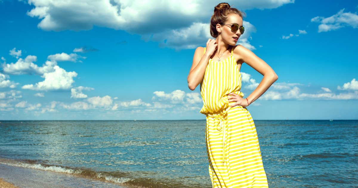 Long dresses that will greatly increase your confidence this summer