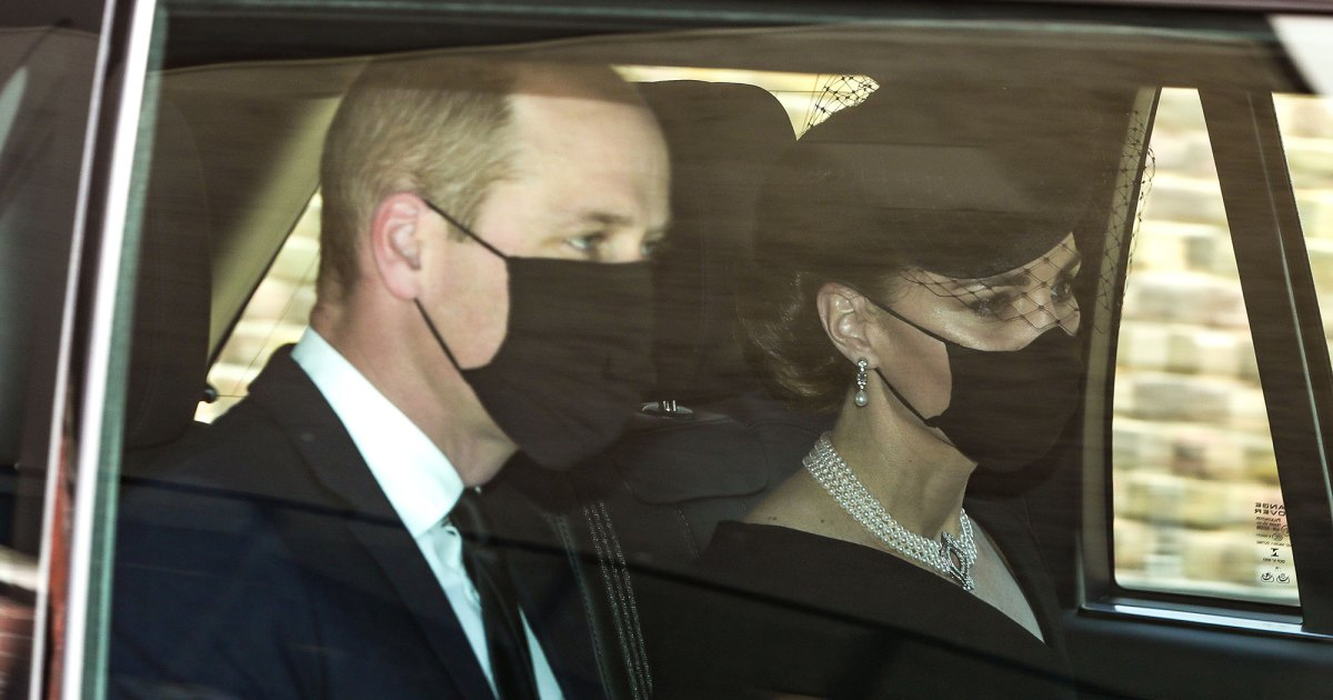 Duchess Kate Pays Tribute to Queen Elizabeth II and Princess Diana at Prince Philip's Funeral: Photos