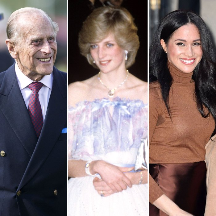 How Prince Philip Welcomed Princess Diana Meghan Markle to Royal Family