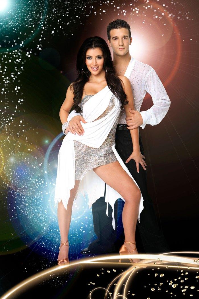 Kim Kardashian danse avec les stars