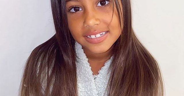 Kim Kardashian's Daughter North West Tests Out Special Effects Makeup: 'My Creative Baby'.jpg