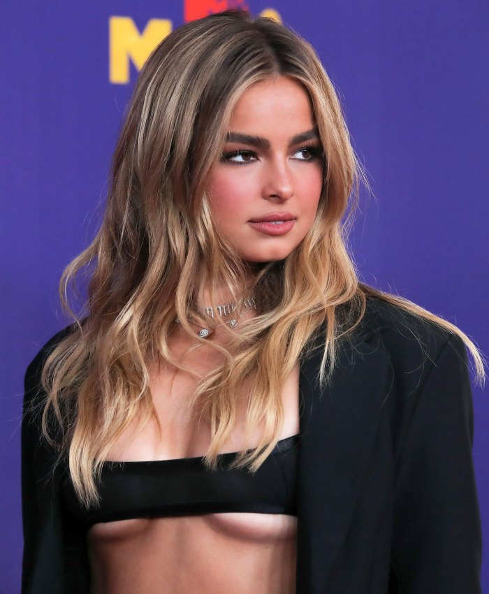 OMG! Addison Rae's Barely-There MTV Awards Dress Has Us Speechless