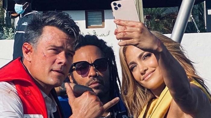 Inside Jennifer Lopezs Mindset Shooting Shotgun Wedding Amidst Split Rod
