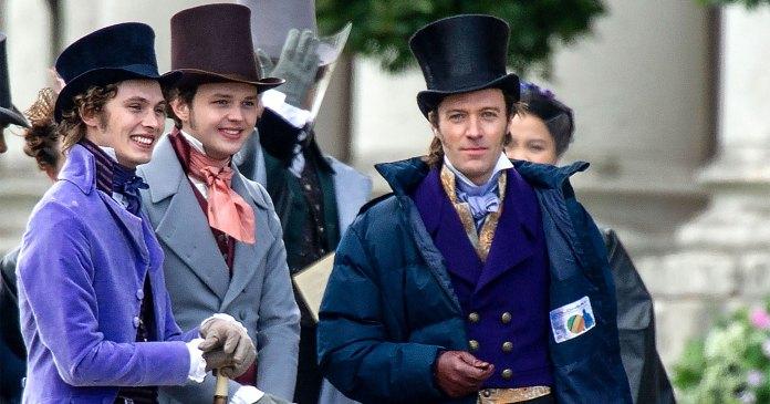 Bridgerton series Cast Spotted Filming Season 2, It's All Happening!