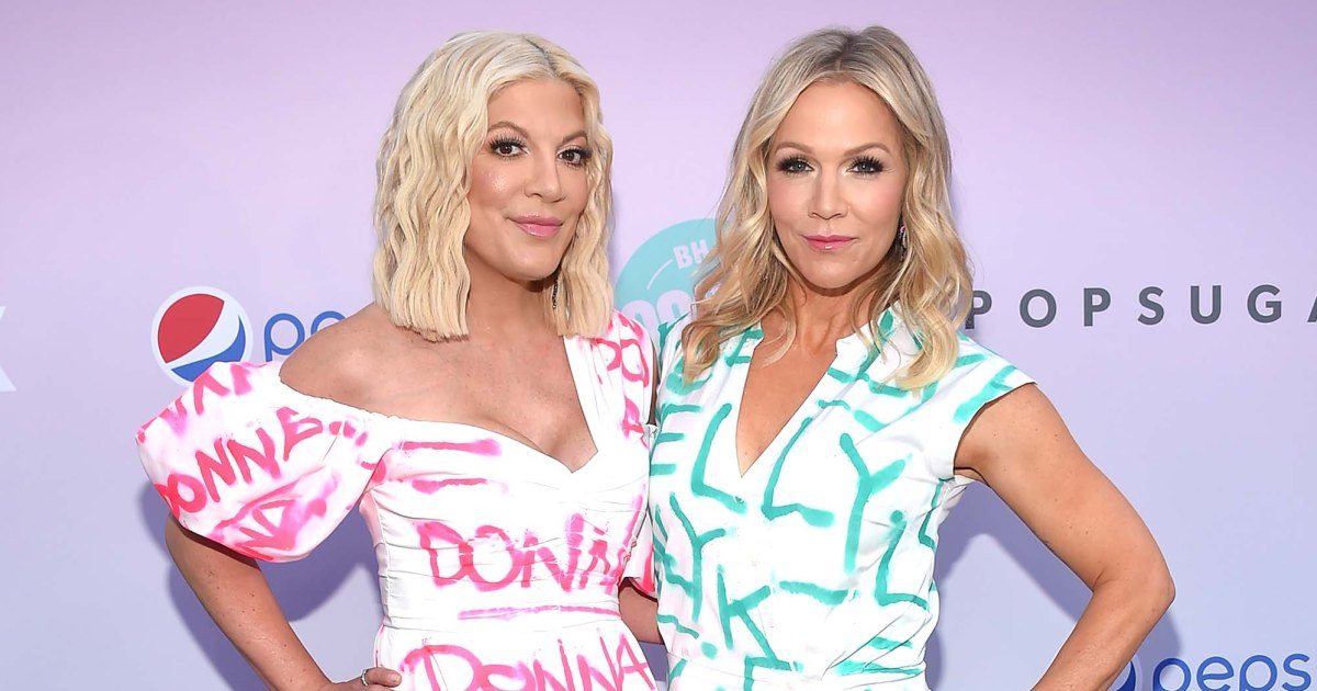 Jennie Garth Warns Tori Spelling She Has 'a Lot in Store' Raising Teenagers
