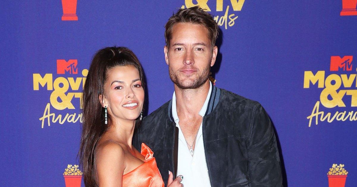 Justin Hartley and Sofia Pernas Make Red Carpet Debut at MTV Awards