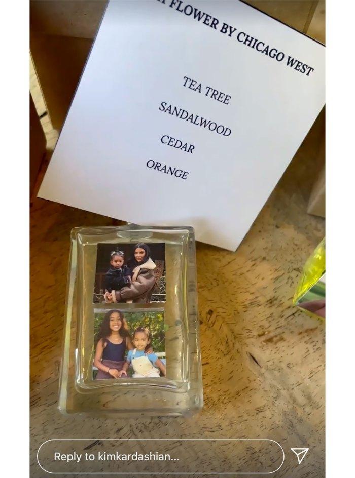 Too Cute! Kim Kardashian's 'Thoughtful' Kids Made Her Personalized Perfumes