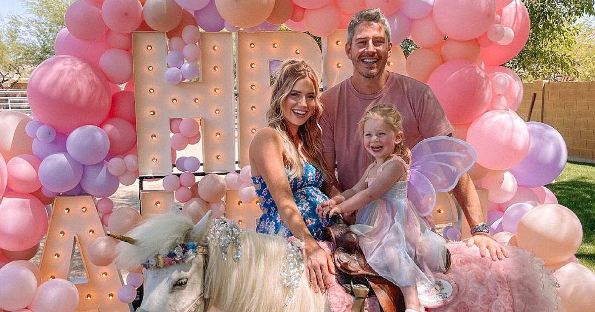 Pregnant Lauren Burnham and Arie Luyendyk Jr. Celebrate Daughter Alessi's 2nd Birthday With 'Butterfly Princess' Party