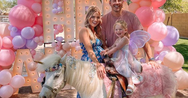 Pregnant Lauren Burnham and Arie Luyendyk Jr. Celebrate Daughter Alessi's 2nd Birthday With 'Butterfly Princess' Party.jpg