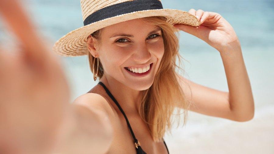 Sun-Hat-Stock-Photo