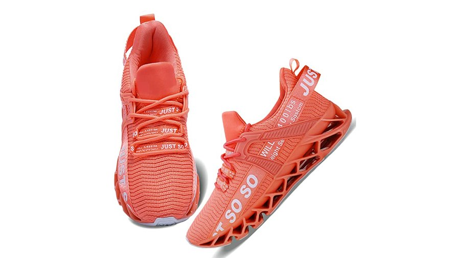 Wonesion Women's Walking Running Athletic Blade Non Slip Sneakers