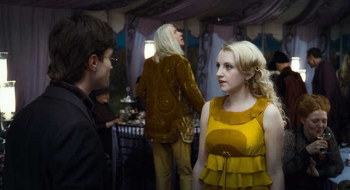 Harry Potter Daniel Radcliffe Evanna Lynch Exclusive Interview