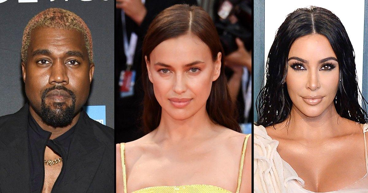 Kanye West is dating Irina Shayk amid divorce from Kim Kardashian