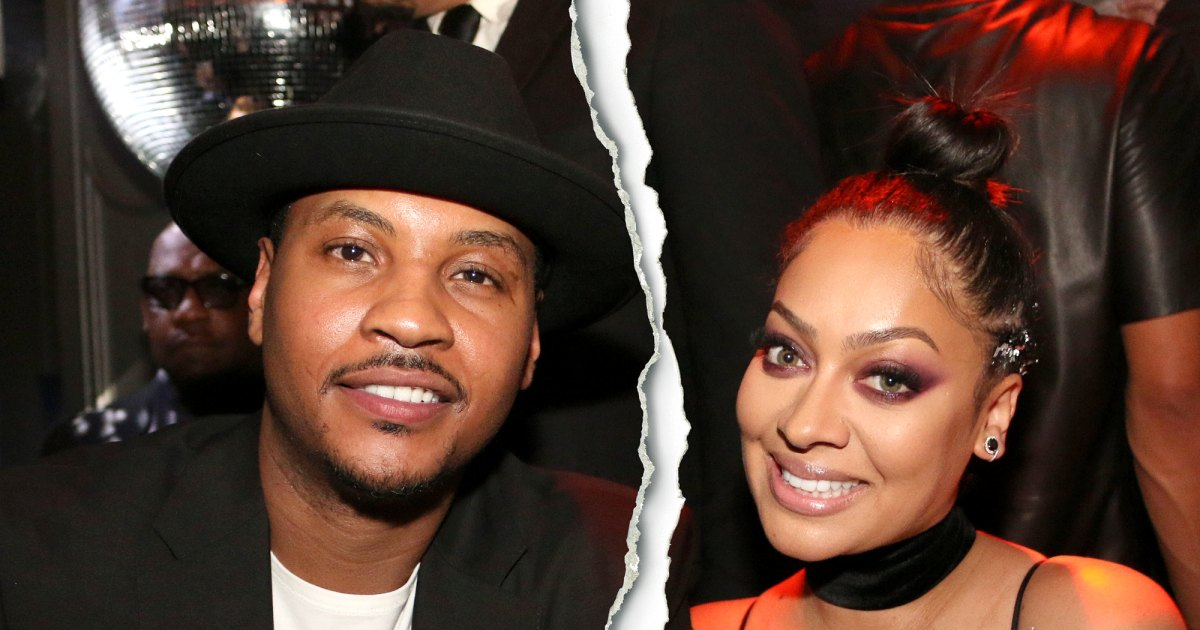 La La Anthony, Carmelo Anthony separate after 16 years