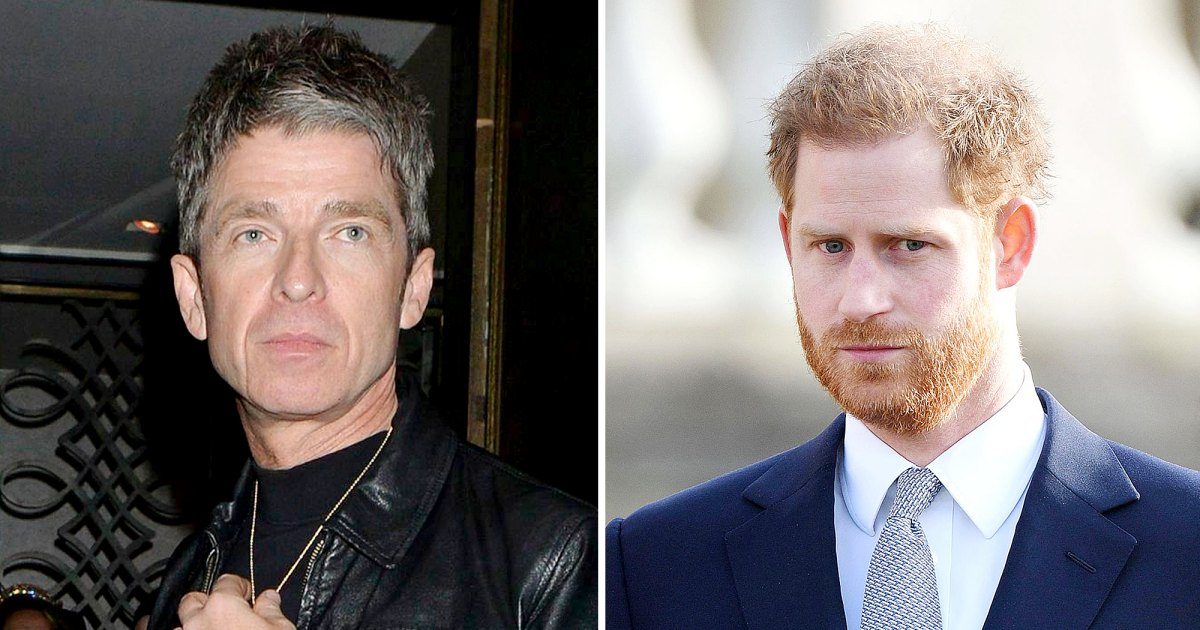 Noel Gallagher on Prince Harry and Prince William Feud