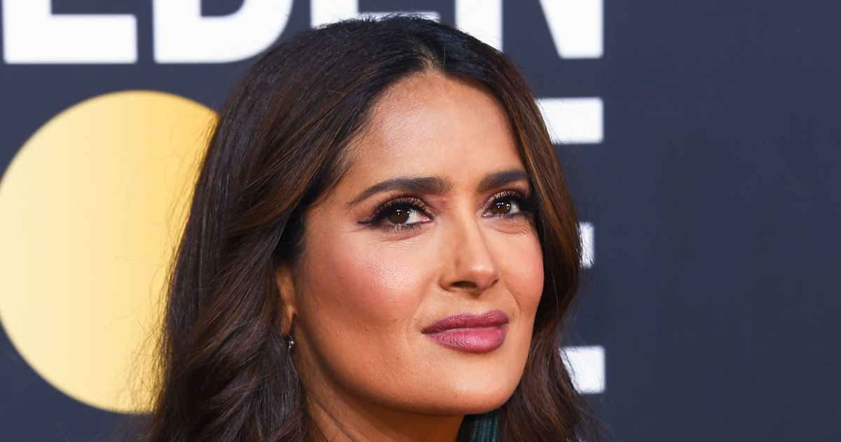 Salma Hayek's Breasts Grew 'Many, Many Sizes' — and It's Not Because of Plastic Surgery