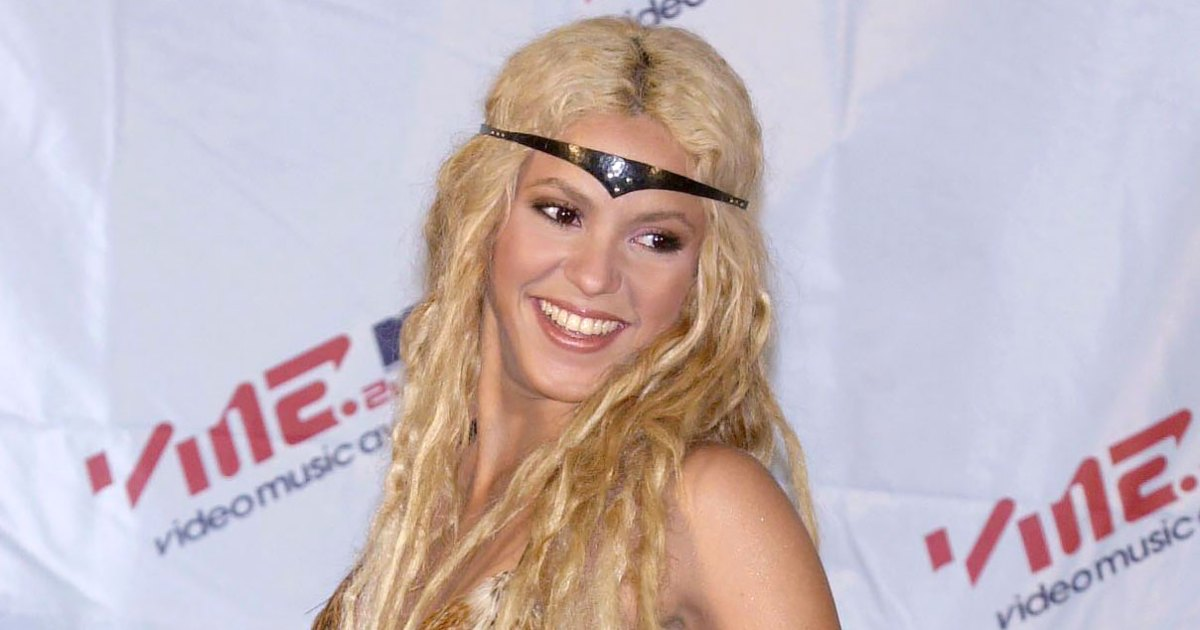Shakira Handmade Her 'Xena: Warrior Princess' Outfit From the 2001 MTV Awards: 'What Am I Wearing?'