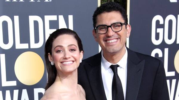 Emmy Rossum Shares First Baby Pic of Her 'Healthy, Beautiful Baby Girl' With Husband Sam Esmail