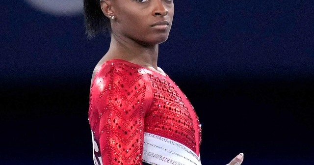 Simone Biles' Most Honest Quotes About Mental Health and Wellness Through the Years: 'We're Human'.jpg