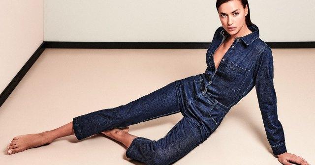 Irina Shayk Models Fall's Biggest Denim Trends: From Jumpsuits to Boot Cuts.jpg