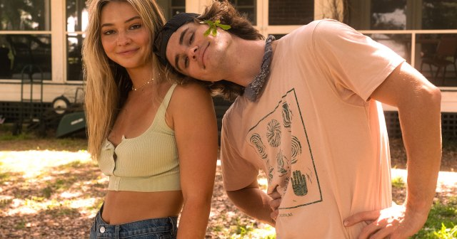 Outer Banks' Chase Stokes Is 'Thankful' for 'Very Healthy' Relationship With Costar Madelyn Cline: We 'Take Care of Each Other'.jpg
