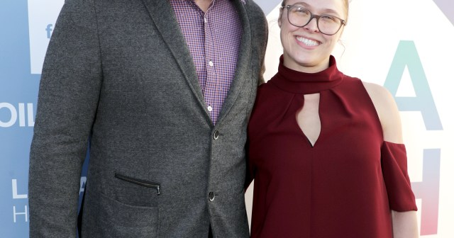 WWE's Ronda Rousey Gives Birth, Welcomes 1st Child With Husband Travis Browne.jpg