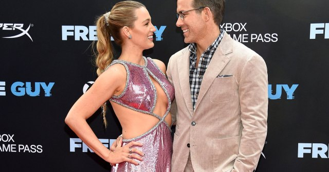 Blake Lively and Ryan Reynolds Are the Definition of Couple Goals on the 'Free Guy' Red Carpet: Photos.jpg