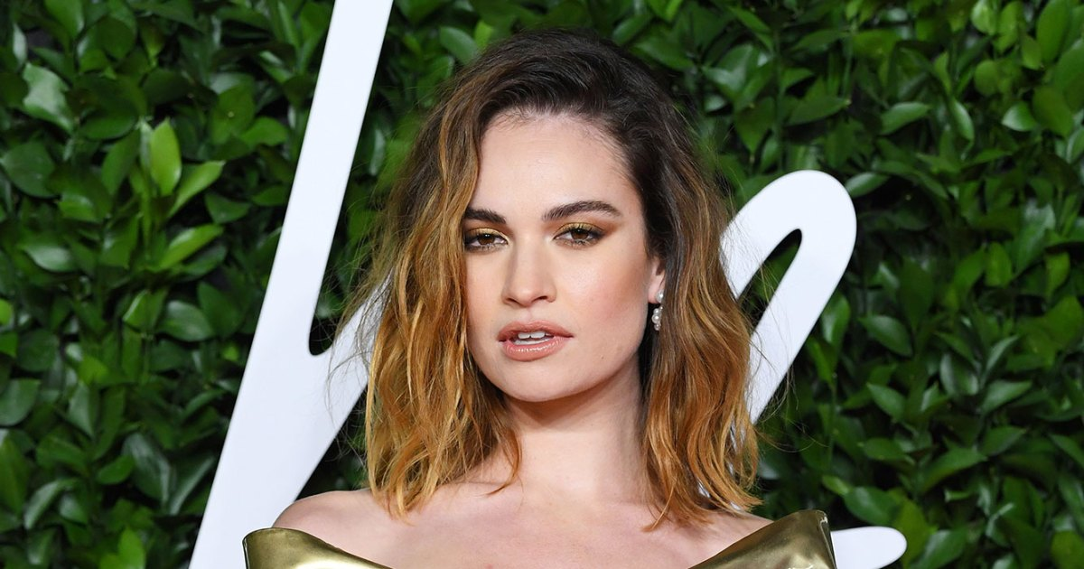 Lily James Spends '3 to 5' Hours in Hair and Makeup to Transform Into Pamela Anderson for 'Pam and Tommy'