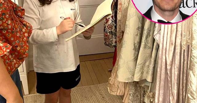 Drew Barrymore's Daughter Olive Designs Flower Girl Dresses for Will Kopelman's Wedding: Photos.jpg
